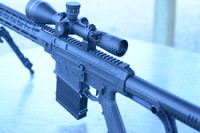 BN36X3 Long Range Semi Auto AR Platform 30-06 Rifle -range view