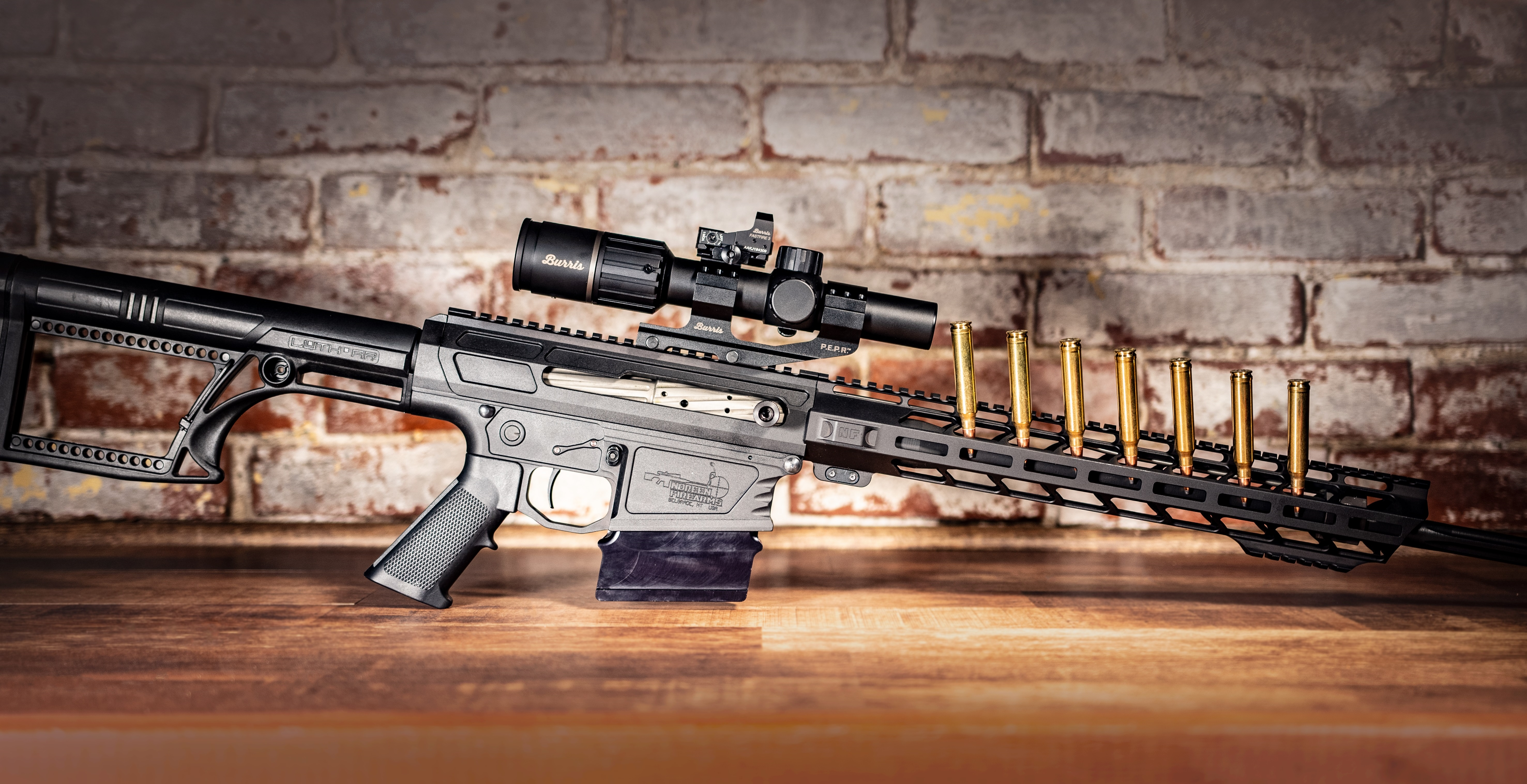 Noreen Firearms Long Range, Carbine, and Hunting Rifles