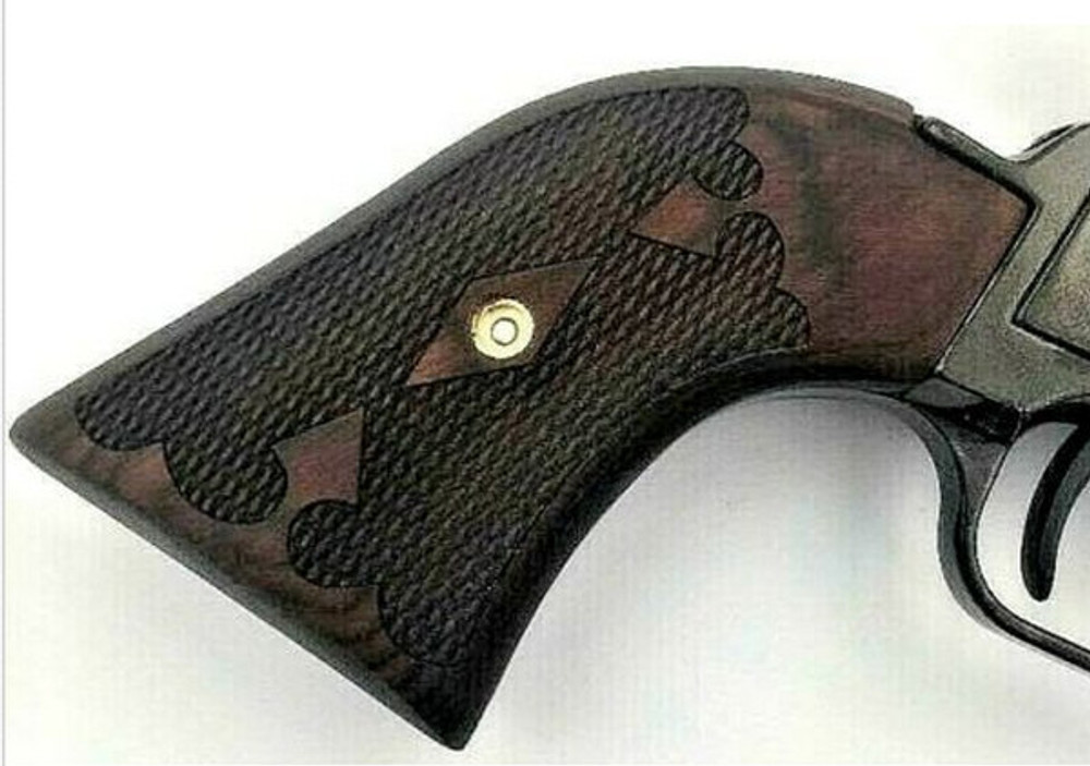 "The Rosewood ""Gentleman"" Version Heritage Arms Rough Rider 6 & 9 Shot Grips (.22 &.22 Mag)"