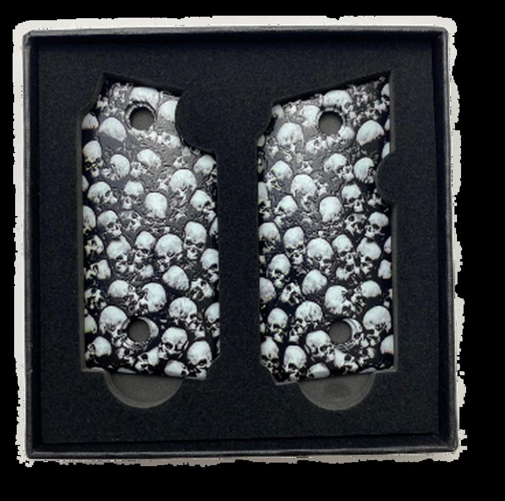 SIG SAUER P238 Custom UV Printed Armageddon Skulls Grips