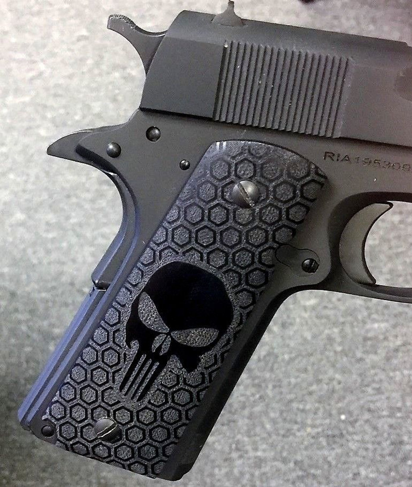 "GG1911G10-Punish ""Punisher"" G10 1911 Grips"