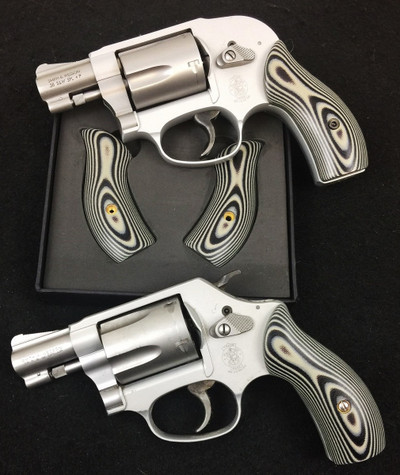 S&W J Frame Gun Grips Layered G10