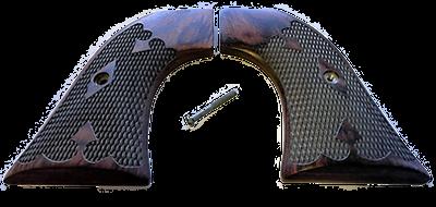 Ruger Rosewood Grips - Wrangler Model - Gunslinger Tapered
