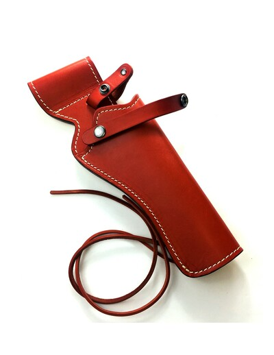 Heritage Arms Rough Rider .22 & .22 Mag Revolver Reddish Brown Saddle Leather Holster
