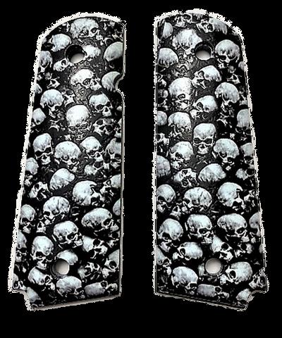Full Size Skulls Fit Colt Gov and Clones Rock Island