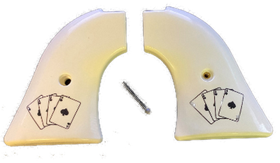 Heritage Arms Rough Rider GRIPS .22 & .22 MAG Faux Ivory Aces
