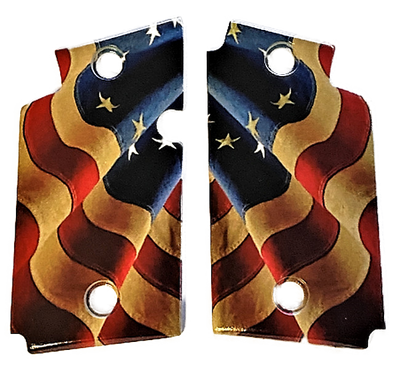 SIG SAUER P938 Acrylic Betsy Ross Flag Gun Grips