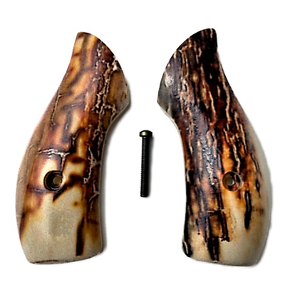 J Frame Grips fits most S&W round butts UV printed HD image of Mammoth Tusk on acrylic pearl