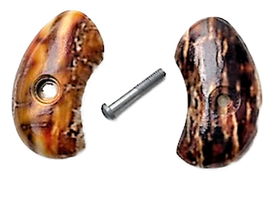 North American Arms Mother of Pearl .22lr and .22 short Gun Grip w/HD UV printed picture of mammoth bark over acrylic