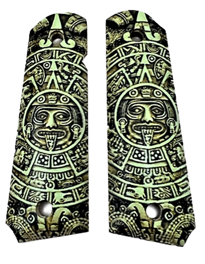 1911 grips Mayan Calendar Full size wood grips