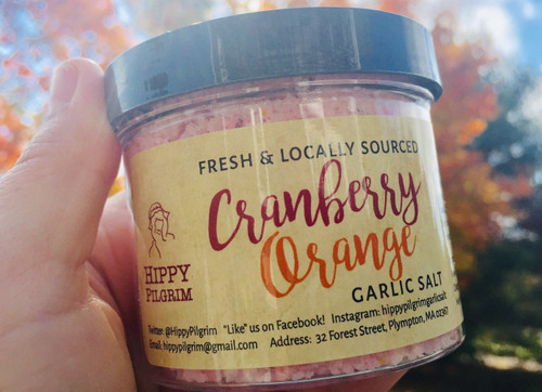 Cranberry Orange Garlic Salt **LIMITED HOLIDAY EDITION**
