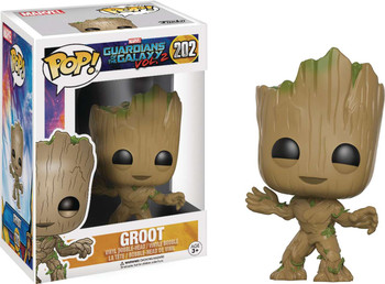 POP GUARDIANS OF THE GALAXY VOL 2 - GROOT VINYL FIG