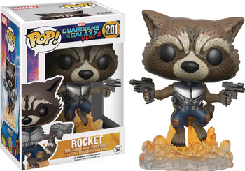POP GUARDIANS OF THE GALAXY VOL 2 - ROCKET RACOON VINYL FIG