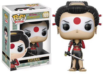 POP DC BOMBSHELLS - KATANA VINYL FIG