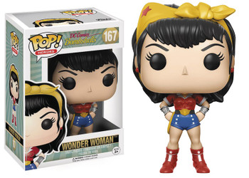 POP DC BOMBSHELLS - WONDER WOMAN VINYL FIG