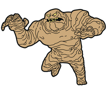 BATMAN ANIMATED SERIES CLAYFACE MAGNET