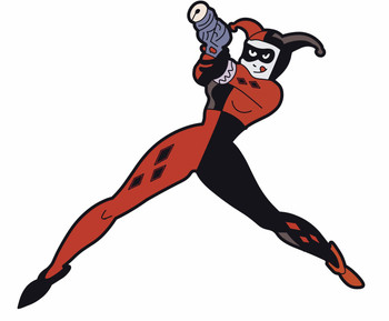 BATMAN ANIMATED SERIES HARLEY QUINN MAGNET