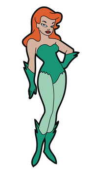 BATMAN ANIMATED SERIES POISON IVY MAGNET