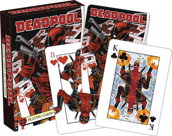 DEADPOOL MIRROR PLAYING CARDS
