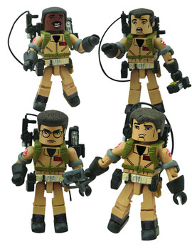 GHOSTBUSTERS MINIMATES I LOVE THIS TOWN BOX SET