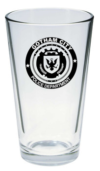 GOTHAM POLICE PINT GLASS