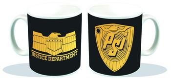 JUDGE DREDD JUSTICE DEPT PSI DIVISION PX COFFEE MUG