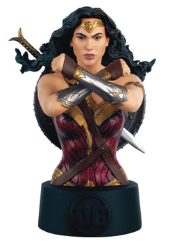 DC BATMAN UNIVERSE BUST COLL #16 WONDER WOMAN MOVIE