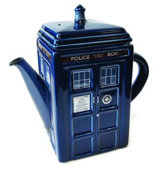 DOCTOR WHO TARDIS 3D CERAMIC TEAPOT
