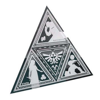 LEGEND OF ZELDA TRIFORCE MIRROR