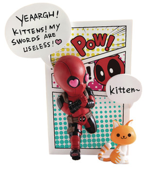 MARVEL COMICS MEA-004 DEADPOOL JUMP OUT 4TH WALL PX FIG