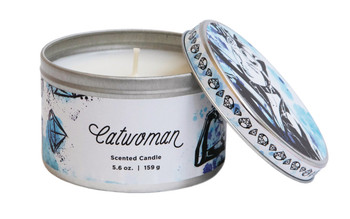 DC HEROES CATWOMAN 5.6OZ SCENTED CANDLE TIN