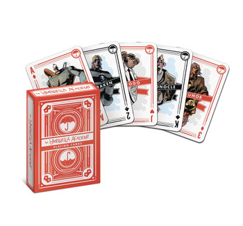 UMBRELLA ACADEMY PLAYING CARDS
