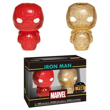 HIKARI XS MARVEL IRON MAN RED & GOLD FIGURE 2PK