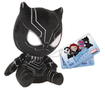 CAPTAIN AMERICA 3 MOPEEZ BLACK PANTHER PLUSH FIG