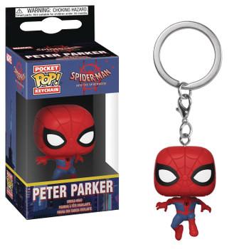 POCKET POP ANIMATED SPIDER-MAN PETER PARKER VIN FIG KEYCHAIN