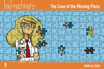 BAD MACHINERY POCKET ED GN VOL 09 CASE OF THE MISSING PIECE