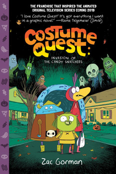 COSTUME QUEST GN INVASION OF THE CANDY SNATCHERS