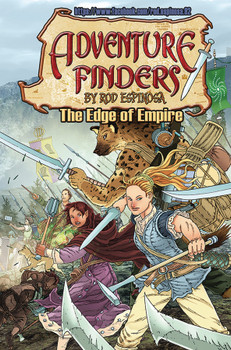 ADVENTURE FINDERS THE EDGE OF EMPIRE TP