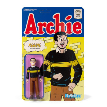 ARCHIE COMICS REGGIE REACTION FIGURE