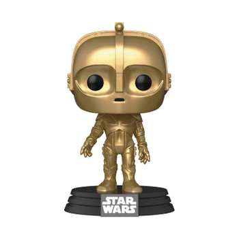 POP STAR WARS SW CONCEPT C3PO VINYL FIGURE