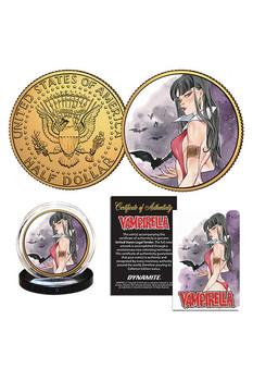 VAMPIRELLA MOMOKO VAMPIRELLA #12 COLL COIN