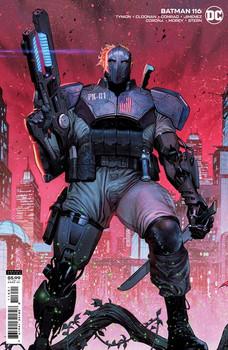 BATMAN #116 CVR B JORGE MOLINA CARD STOCK VAR (FEAR STATE)