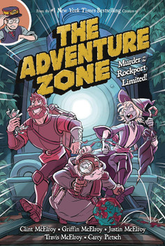 ADVENTURE ZONE GN VOL 02 MURDER ON THE ROCKPORT LIMITED