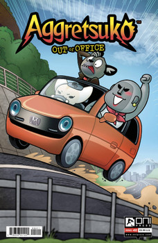 AGGRETSUKO OUT OF OFFICE #2 CVR A HICKEY
