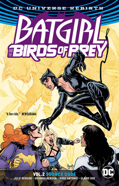 BATGIRL & THE BIRDS OF PREY TP VOL 02 SOURCE CODE