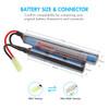 Tenergy Airsoft NiMH 8.4V 1600mAh Butterfly Mini Battery Pack w/ Mini Tamiya