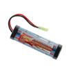 Tenergy Airsoft NiMH 9.6V 1600mAh Flat  Battery Pack w/ Mini Tamiya
