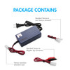 Tenergy Smart Universal Charger for NiMH/NiCd Battery Packs: 7.2V - 12V (UL)