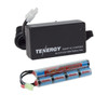 Combo: Tenergy Airsoft NiMH 9.6V 1600mAh Butterfly Mini Tamiya + Charger (#01025)