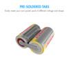 120-pcs Tenergy NiCd Sub C 2200mAh Batteries for Power Tools Flat Top w/ Tabs